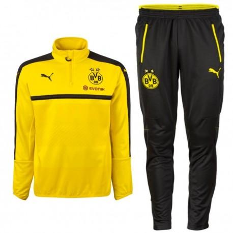 Survetement tech entrainement BVB Borussia Dortmund 201617 Puma