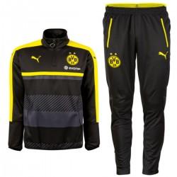 Borussia Dortmund technical Trainingsanzug 2016/17 schwarz - Puma