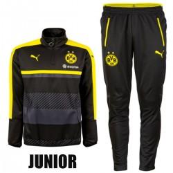 JUNIOR - Survetement tech entrainement Borussia Dortmund 2016/17 noir - Puma
