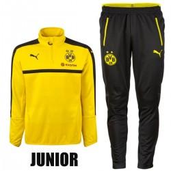 JUNIOR - Survetement tech entrainement BVB Borussia Dortmund 2016/17 - Puma