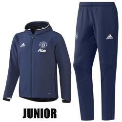 Kinder - Manchester United training Präsentationsanzug 2016/17 - Adidas