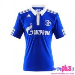 Camiseta Schalke 04 fútbol Inicio 12/2010 por Adidas