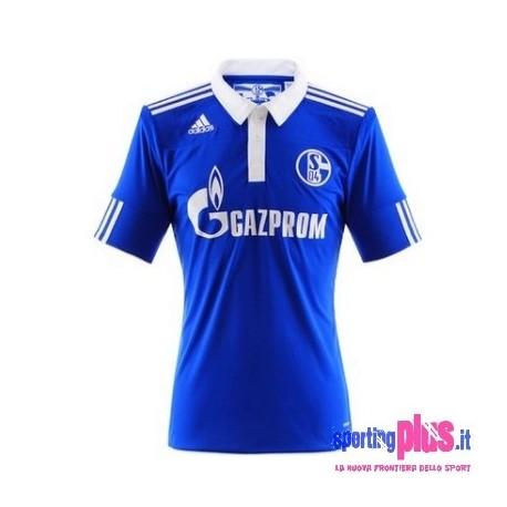 Schalke 04 Fußball Home Shirt 2010/12 von Adidas