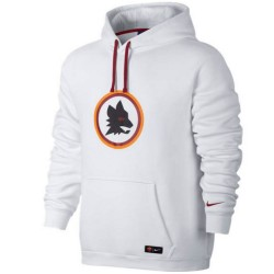 AS Roma white presentation hoodie 2016/17 - Nike