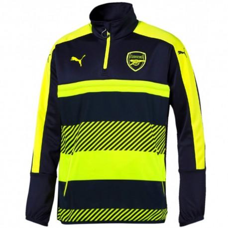 Arsenal UCL technical training sweatshirt 2016/17 navy/fluo - Puma