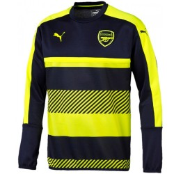 Arsenal UCL training sweatshirt 2016/17 navy/fluo - Puma