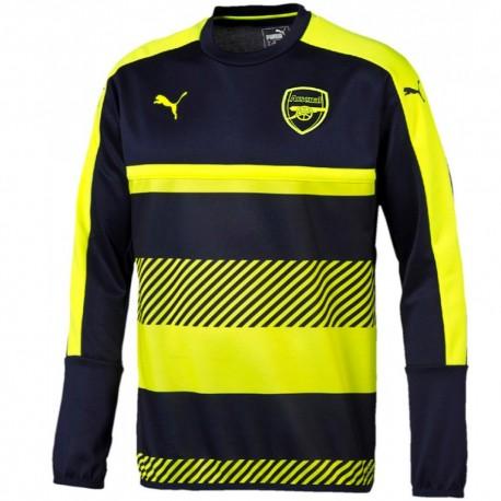 Arsenal UCL training sweatshirt 2016/17 navy/fluo - Puma