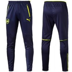 Pantalones entreno Arsenal UCL 2016/17 azul/fluo - Puma
