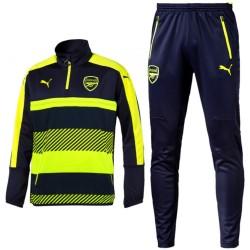 Survetement Tech d'entrainement Arsenal UCL 2016/17 bleu/fluo - Puma