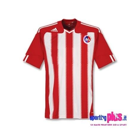 Liepjas Metalurgs Football Jersey Home 09/10-Adidas