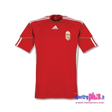 Hungary National Home Jersey 10/12 by Adidas