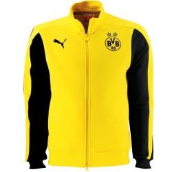BVB Borussia Dortmund T7 Präsentation Jacke 2014/15 - Puma