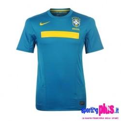 Camiseta de visitante del nacional Brasil 2011 por Nike
