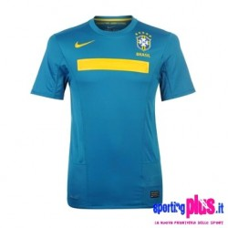 National Brazil Away Jersey 2011 by Nike