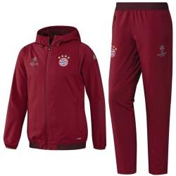 Bayern München Champions League Präsentationsanzug 2016/17 rot - Adidas