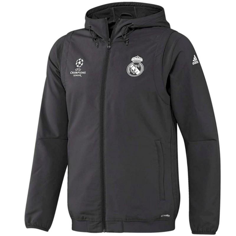 7fdd3adb9bd1c Chandal presentacion Real Madrid Champions League 2016 17 - Adidas ...