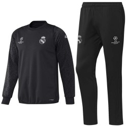 Chandal de entreno Real Madrid Champions League 2016/17 carbon - Adidas
