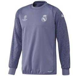 Sudadera de entreno Real Madrid UCL 2016/17 violeta - Adidas