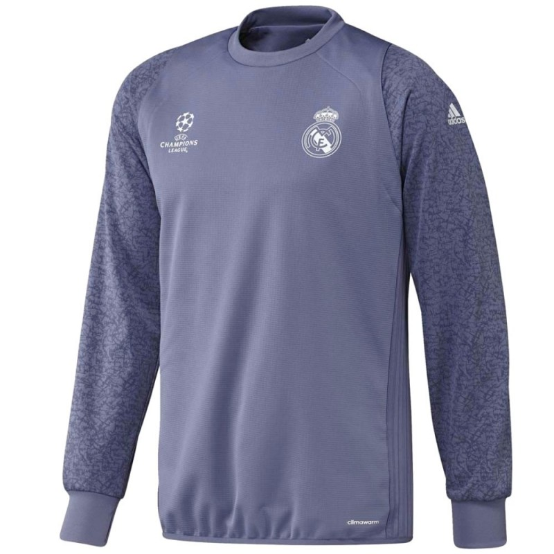 6d0ff5f3893e8 Sudadera de entreno Real Madrid UCL 2016 17 violeta - Adidas ...