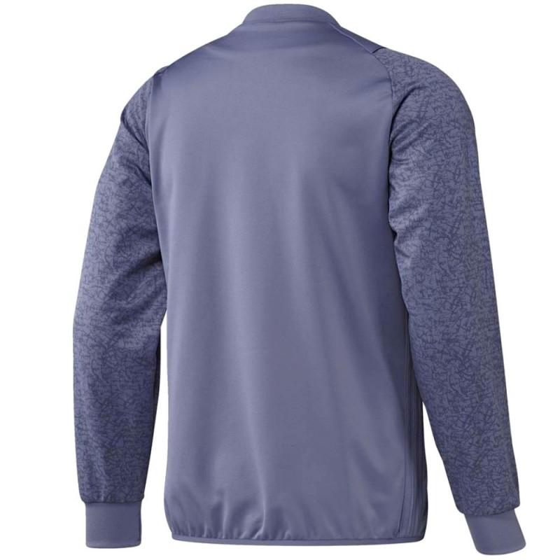 40f7be167 Real Madrid UCL training sweat top 2016 17 purple - Adidas ...