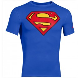"Under Armour ""Alter Ego"" Superman maillot tech compression"