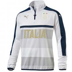 Tribute 2006 tech sweat top entrainement Italie 2016/17 blanc - Puma