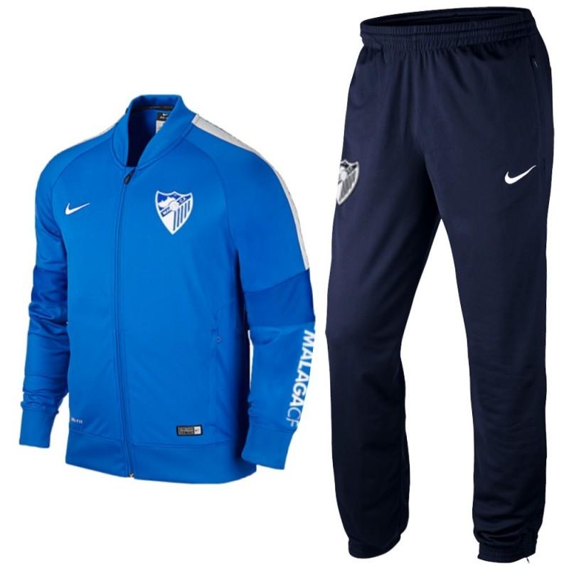 0ca25989cac13 Malaga CF chandal de presentacion entreno 2016 17 - Nike ...