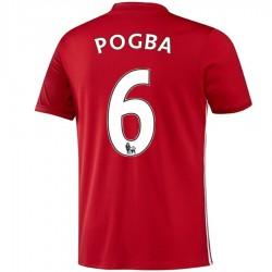 Camiseta Manchester United primera 2016/17 Pogba 6 - Adidas