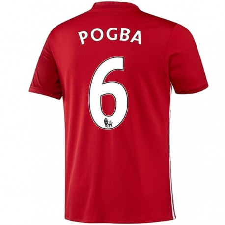 Manchester United Home shirt 2016/17 Pogba 6 - Adidas