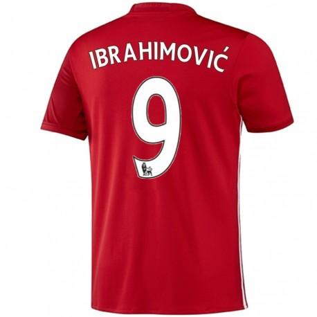 Camiseta Manchester United primera 2016/17 Ibrahimovic 9 - Adidas