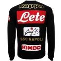 SSC Napoli black training sweatshirt 2016/17 - Kappa