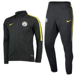 Manchester City grey training presentation tracksuit 2016/17 - Nike