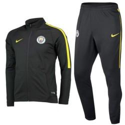 Tuta da rappresentanza grigia Manchester City 2016/17 - Nike