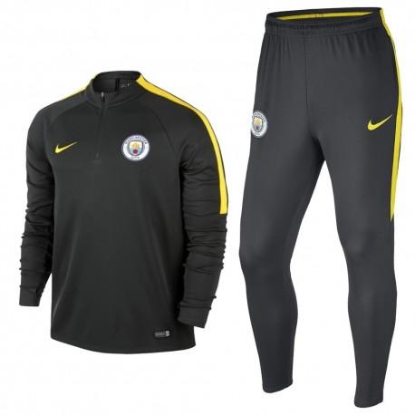 Tuta tecnica allenamento grigia Manchester City 201617 Nike