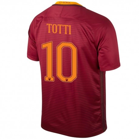 Totti 10 AS Roma Home football shirt 2016/17 - Nike