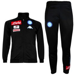 SSC Napoli black training tracksuit 2016/17 - Kappa