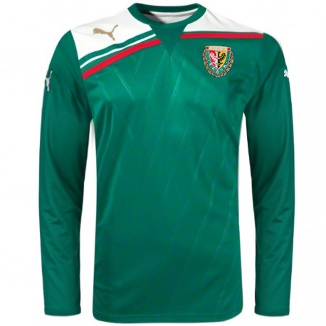 Slask Wroclaw Home football shirt 2012 long sleeves - Puma