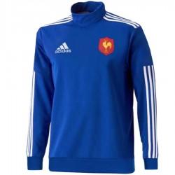 Frankreich Rugby team Tech Trainingssweat 2015 - Adidas