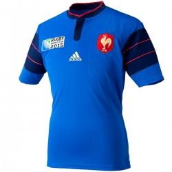 Frankreich Rugby World Cup heimtrikot 2015/16 - Adidas