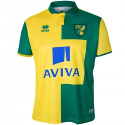 Maillot de foot Norwich City FC domicile 2015/16 - Errea