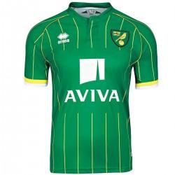 Norwich City FC segunda camiseta de fútbol 2015/16 - Errea