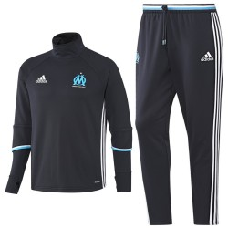 Olympique Marseille Tech trainingsanzug 2016/17 blau - Adidas
