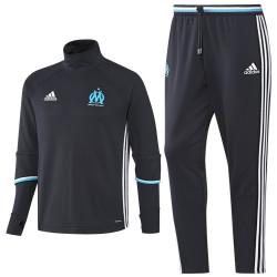 Survetement Tech d'entrainement bleu Olympique Marseille 2016/17 - Adidas