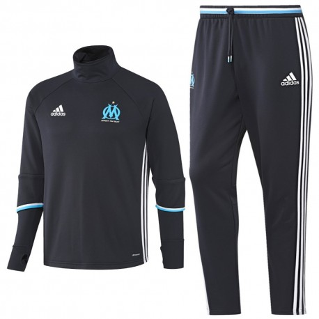 Olympique Marseille training technical tracksuit 2016/17 navy - Adidas
