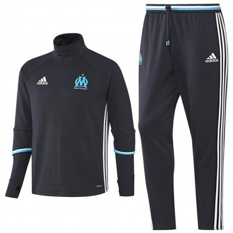 Olympique Marseille training technical tracksuit 2016/17 navy - Adidas
