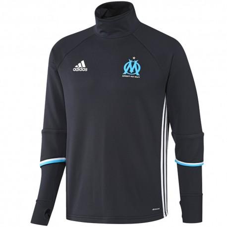 Olympique Marseille training technical sweatshirt 2016/17 navy - Adidas