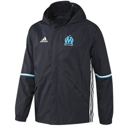 Coupe pluie d'entrainement Olympique Marseille 2016/17 - Adidas