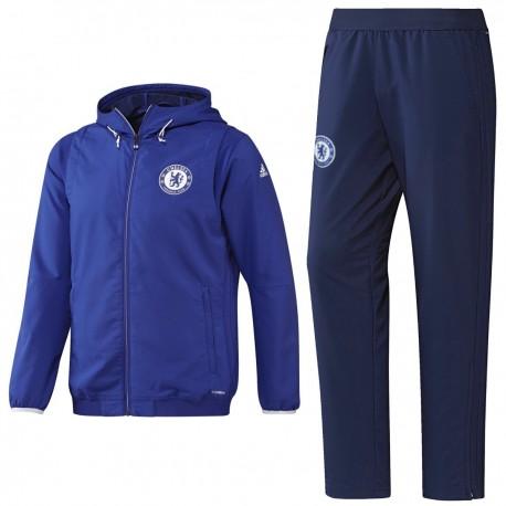 Chelsea Cups blue presentation tracksuit 2016/17 - Adidas
