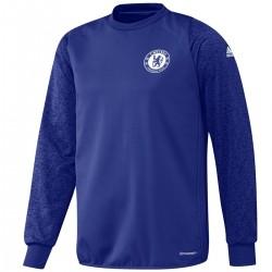 Sweat top d'entrainement coupes Chelsea 2016/17 bleu - Adidas