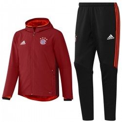 Bayern Munich red presentation tracksuit 2016/17 - Adidas